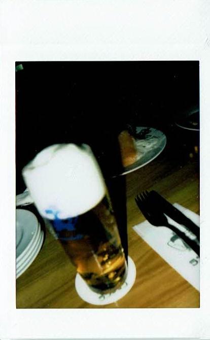 在りし日の生ビール